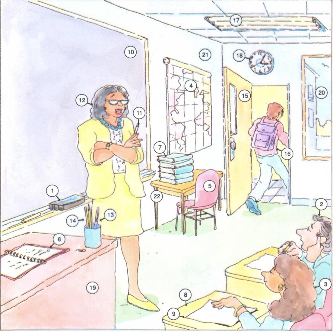 Classroom Vocabulary University Life