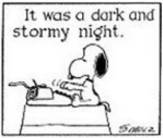 snoopy typeing